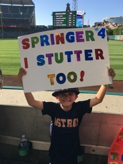 Astros player George Springer gave a special fan the gift of a lifetime